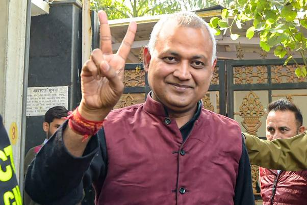 Delhi Court Grants Bail To AAP MLA Somnath Bharti And Suspends His Two-Year Jail Term