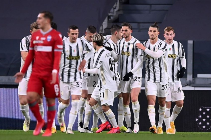 Juventus 4-0 SPAL: Gianluca Frabotta Stunner Helps Tee Up Coppa Italia Semi-Final Against Inter