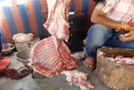 Shocking! Eggs, Mutton Found Being Sold In Public Toilet In Indore