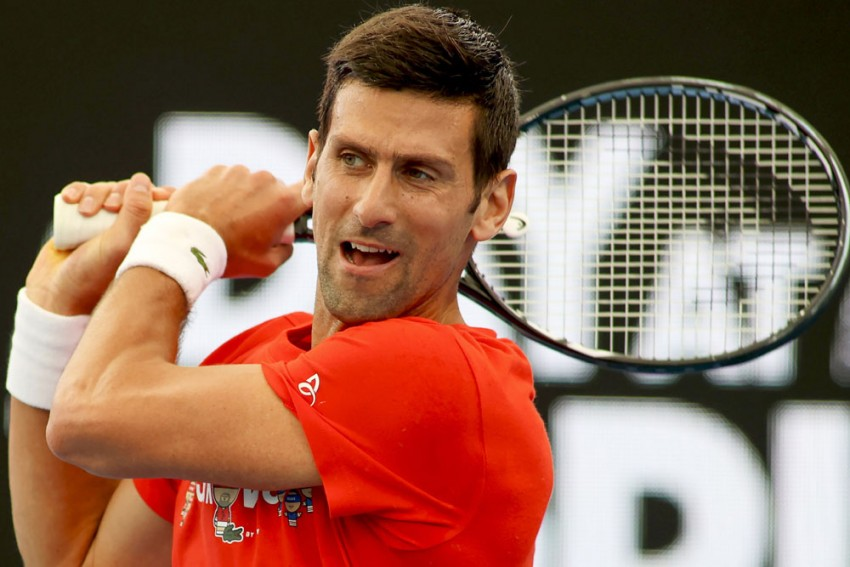 Novak Djokovic Apologises After Playing Just One Set Of Exhibition Match