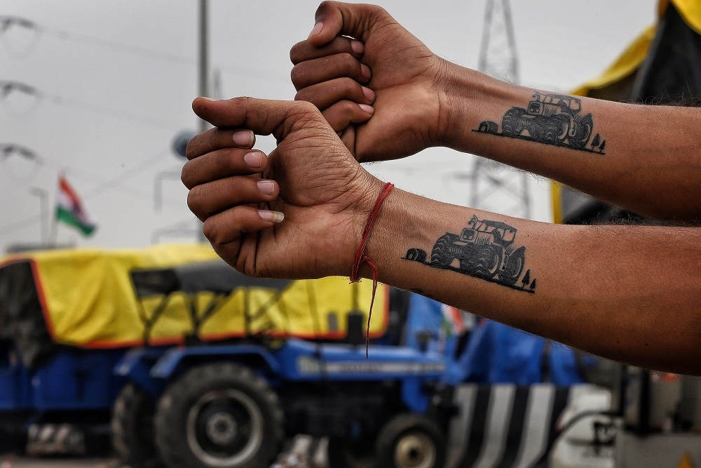 Tractor As New Symbol Of Mass Protest: Iconic Images And Props Of Dissent