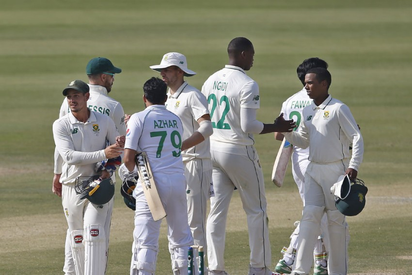 PAK Vs SA, 1st Test: Pakistan See Off South Africa After Spinners Turn The Game In Karachi