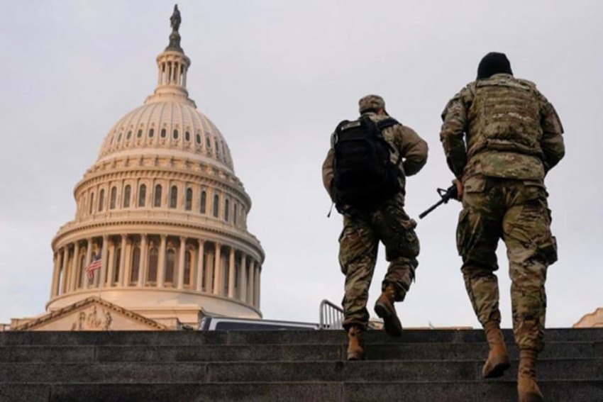 Man Arrested With Gun And 20 Rounds Of Ammunition Near US Capitol