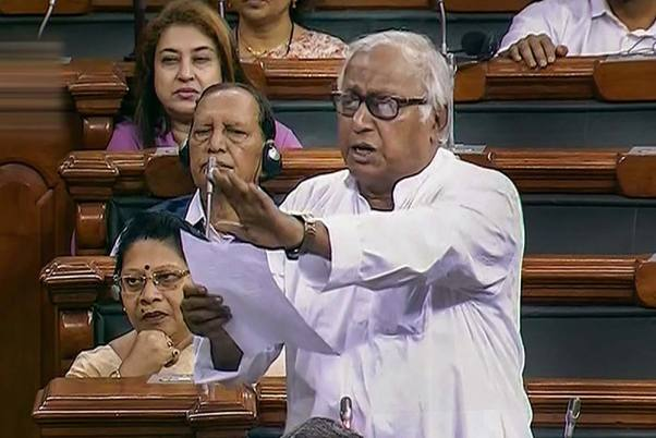 President Should Not Have Supported Farm Laws: TMC MP Saugata Roy