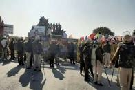 Farmers' Protest: Haryana Police Uses Teargas To Stop Group Marching To Delhi
