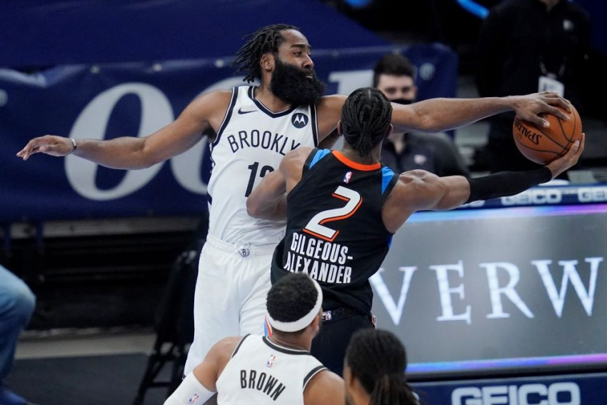 NBA: Harden's Nets In 37-Year First, Ingles Makes History With Streaking Jazz