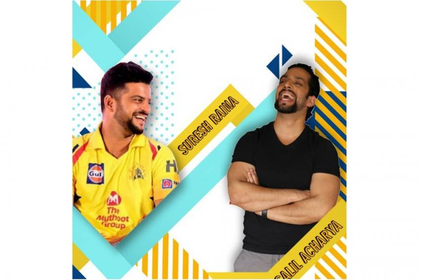 What Binds Cricketer Suresh Raina And Podcaster Salil Acharya? Fatherhood, Cricket And More