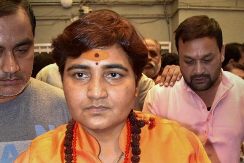 BJP MP Pragya Thakur Appears Before Court In Malegaon Blast Case