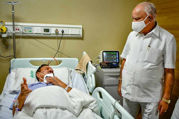 PM Modi Extends His Wishes To Sadananda Gowda For Speedy Recovery