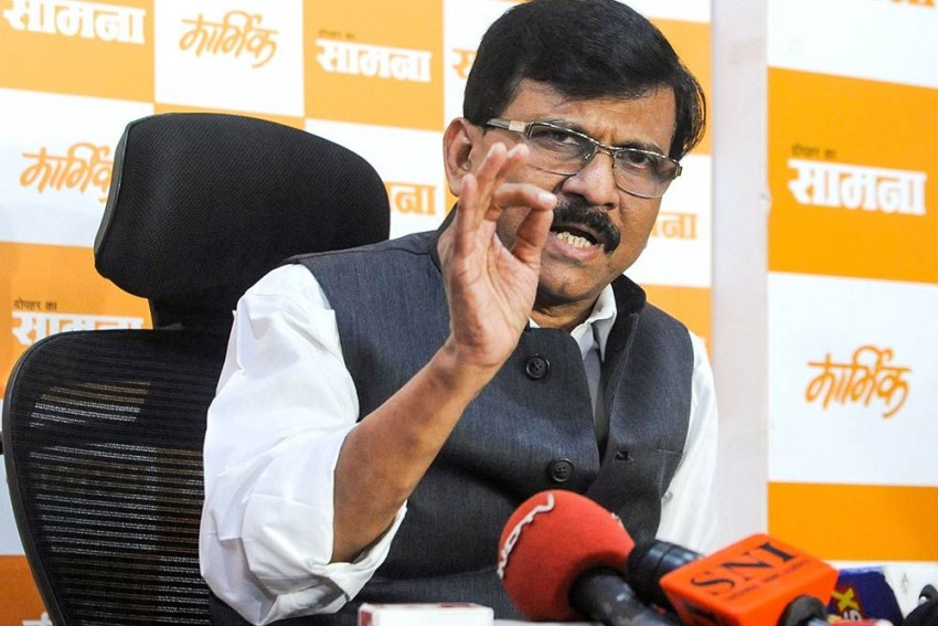 Shiv Sena MP Sanjay Raut's Wife Reaches ED Office In PMC Bank scam