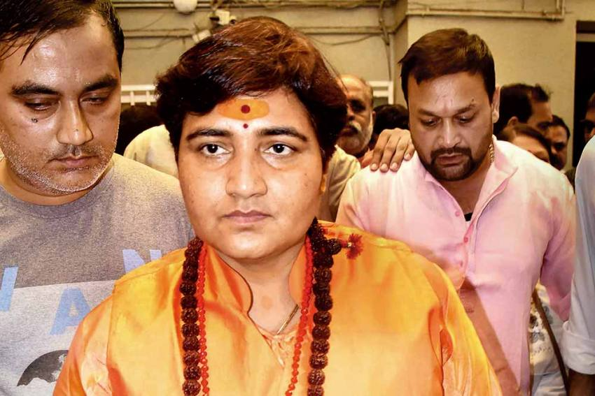 BJP MP Pragya Thakur Appears In Court After Warning In Malegaon Blast Case