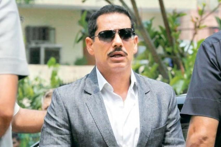 Income Tax Officials Record Robert Vadra's Statement In Benami Properties Case