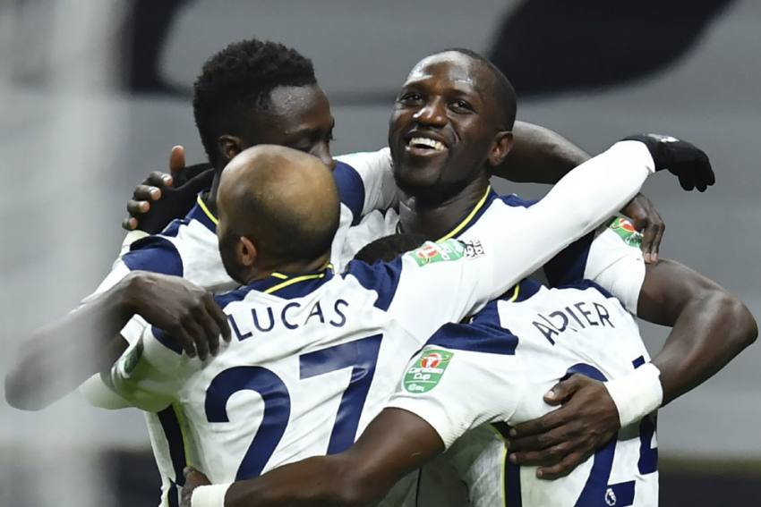 Tottenham 2-0 Brentford: Moussa Sissoko, Son Heung-min Fire Jose Mourinho's Men To EFL Cup Final
