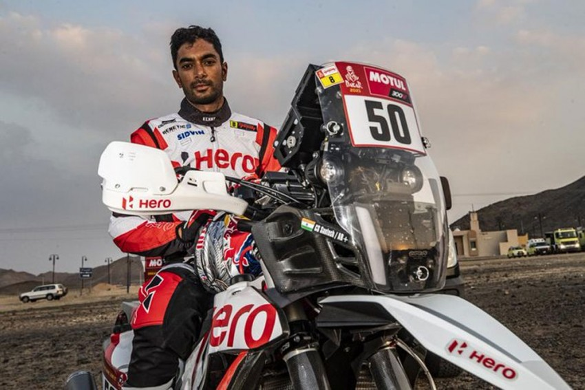 Indian Rider CS Santosh In Medically-induced Coma After Suffering Horrific Dakar Rally Crash