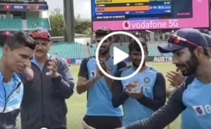 AUS Vs IND, 3rd Test, Sydney: Navdeep Saini Gets His Cap - Watch