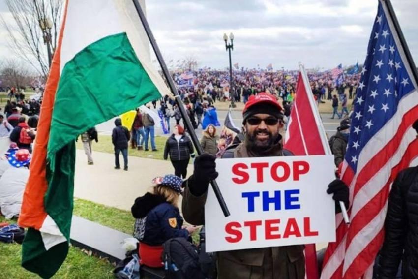 Meet Vincent Xavier, Indian-Origin Donald Trump Supporter Seen At US Capitol Attack