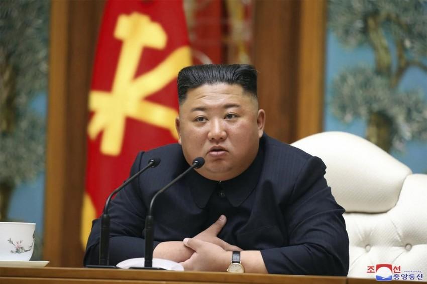 North Korea's Kim Jong Un Vows To Improve Ties With Outside World At Party Meeting