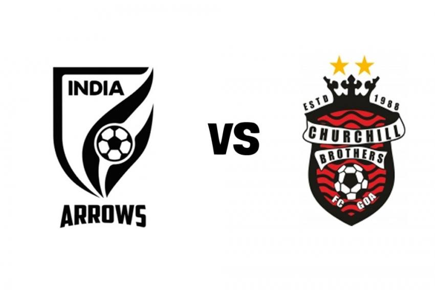 I-League Live Streaming: When And Where To Watch Indian Arrows Vs Churchill Brothers FC Goa Match