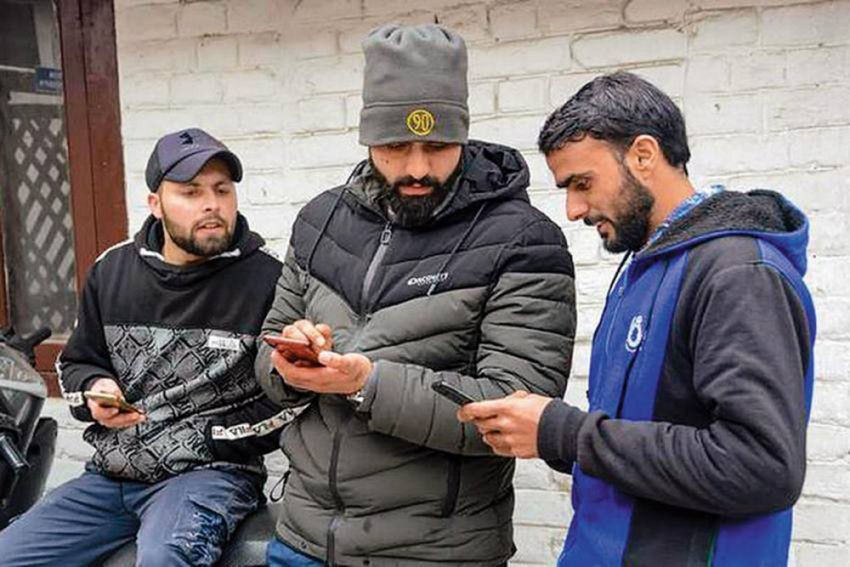 No High-Speed Internet In J&K, To Continue With 2G Services
