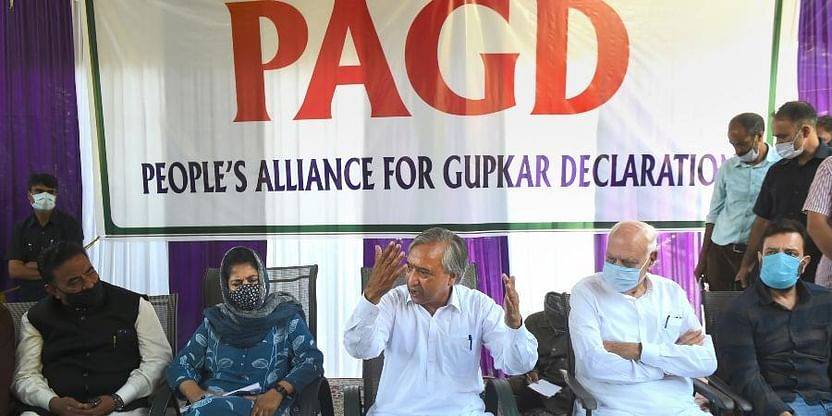 Far From Reality, Fabricated, Concocted: PAGD On Home Ministry's Kashmir Report