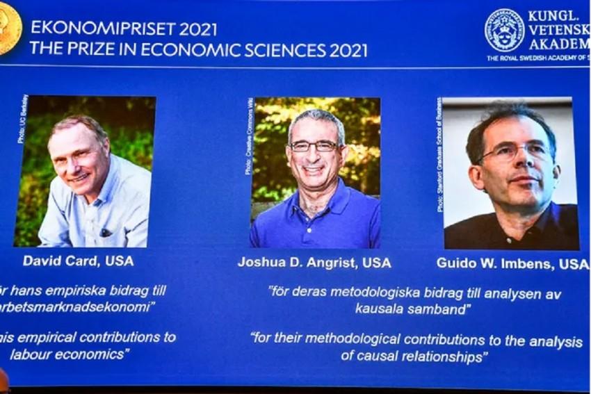 Three US-Based Economists Receive Nobel Prize For Economics