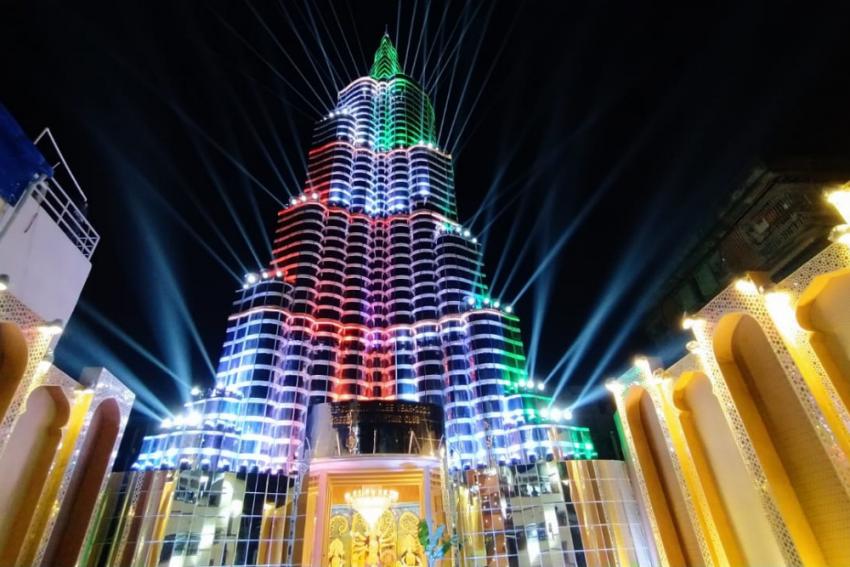 Laser Show Of Kolkata's 'Burj Khalifa' Durga Puja Pandal Suspended Due To Covid-19 Fears