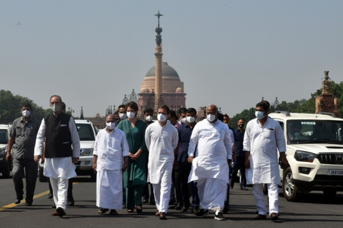 Lakhimpur Kheri: Congress Leaders Meet President, Demand Dismissal Of MoS Ajay Mishra
