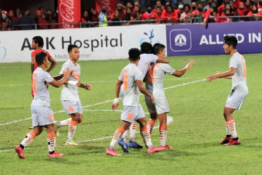 Sunil Chhetri Brace Helps India Beat Maldives, Enter SAFF Football Championship Final