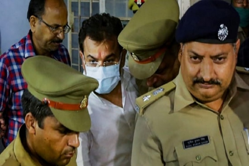 Lakhimpur Violence: SIT Takes Union Minister's Son Ashish Mishra To Recreate Sequence Of Events