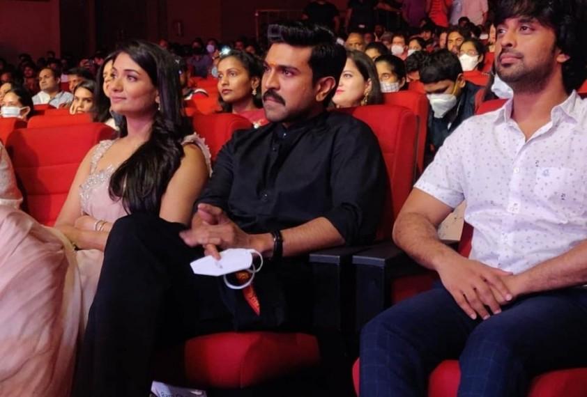 Ram Charan Launches The Trailer Of Sandhya Raju's Film 'Natyam'