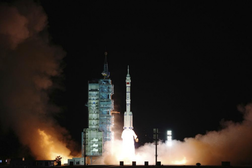 China Kick Starts Its Six Month Space Mission With Shenzhou-13 Spacecraft