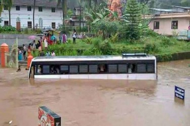 Six Dead, 12 Missing As Heavy Rains Cause Flash Floods And Landslides In Kerala