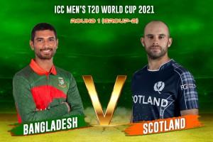Bangladesh Vs Scotland, ICC T20 World Cup 2021, Live Cricket Scores: BAN Start Favourites Against Spirited SCO