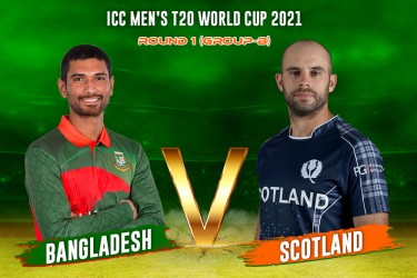 BAN Vs SCO, ICC T20 World Cup 2021, Live Cricket Scores: Scotland Stun Bangladesh By 6 Runs