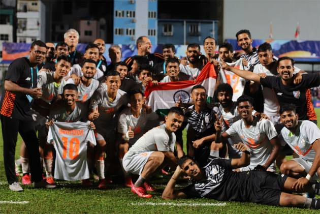 Sunil Chhetri Credits Youngsters For SAFF Championship Win, Says Indian Football Team Makes It Special