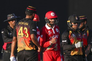 ICC T20 World Cup: Oman Hammer Papua New Guinea In Opener