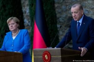 Merkel Meets Erdogan During Farewell Stop In Istanbul