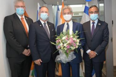 External Affairs Minister S Jaishankar Arrives In Israel On His Maiden Visit