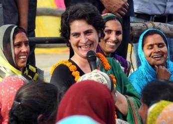 Congress Names Priyanka Gandhi As Party's Face For Upcoming Uttar Pradesh Polls