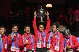 Indonesia Beat China To Lift Thomas Cup Trophy After 19 Years