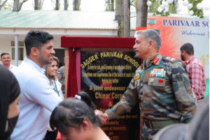 'Dagger Parivaar School' Was Inaugurated  In Baramulla, Kashmir, As An initiative Of The Chinar Corps-Indian Army  And Indrani Balan Foundation