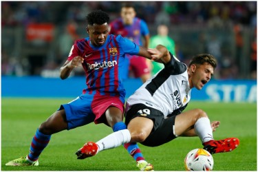 La Liga: Teen Ansu Fati Shines As Barcelona Rally To Beat Valencia 3-1
