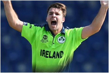 Four Wickets In Four Balls! Curtis Campher Does A Lasith Malinga In T20 World Cup -Watch Amazing Video