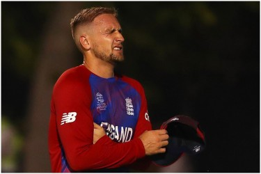 ICC Men's T20 World Cup: England's Liam Livingstone Suffers Finger Injury Vs India