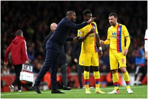EPL: Alexandre Lacazette Dampens Patrick Vieira's Return At Emirates As Arsenal Hold Crystal Palace