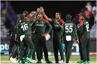 BAN vs OMN, T20 World Cup 2021: Shakib Al Hasan, Mustafizur Rahman Keep Bangladesh Alive - Highlights