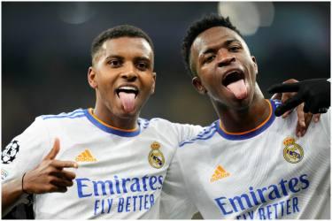 Champions League: Vinicius Junior Brace Leads Five-Star Real Madrid Thrash Shakhtar Donetsk