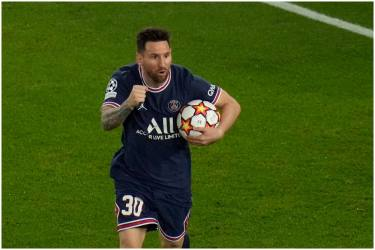 Champions League: Lionel Messi's Twin Strike Rescues Paris Saint-Germain With 3-2 Win Against Leipzig