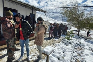 Indian Army Rescues Over 200 Tourists Stranded In Spiti Valley
