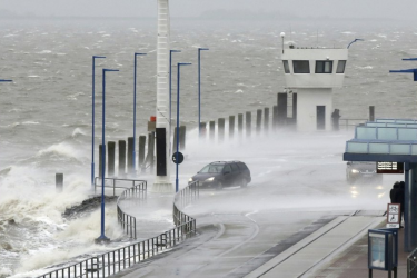Thousands Of French Homes Left In Dark, Trains Disrupted As Storm Sweeps Across Europe